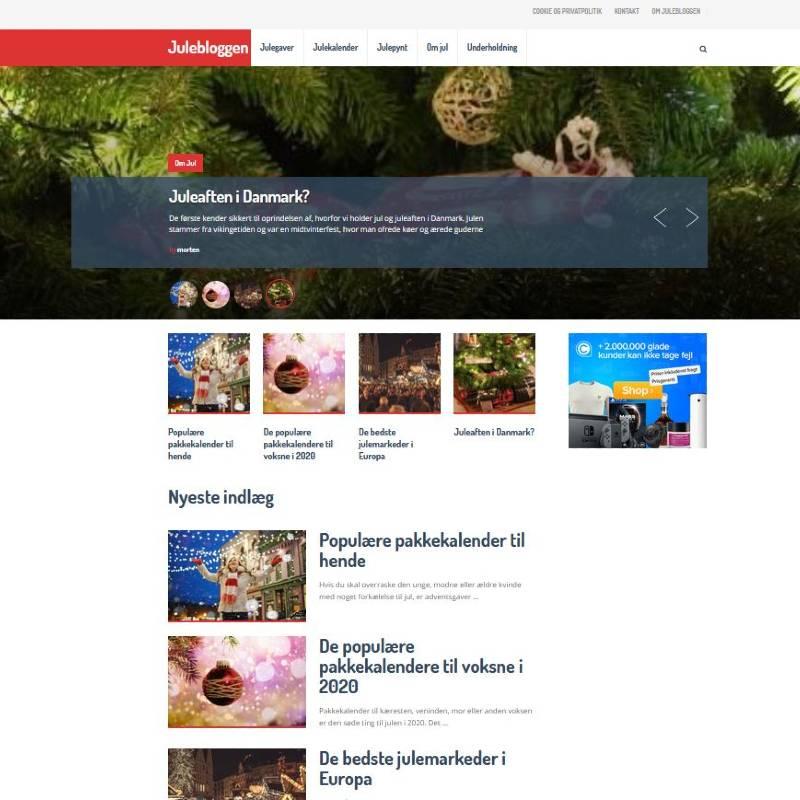 køb jule affiliate blog