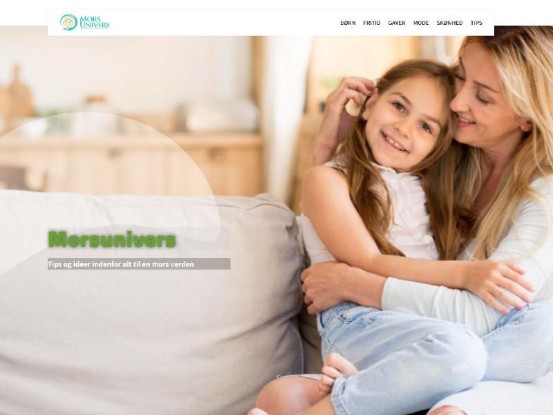 køb affiliate side med niche om mor